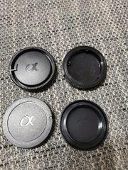 Sony a-Mount 2x Objektivdeckel 2x Kameraabdeckung