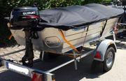 Aluminium-Boot 3m mit Motor Anhänger