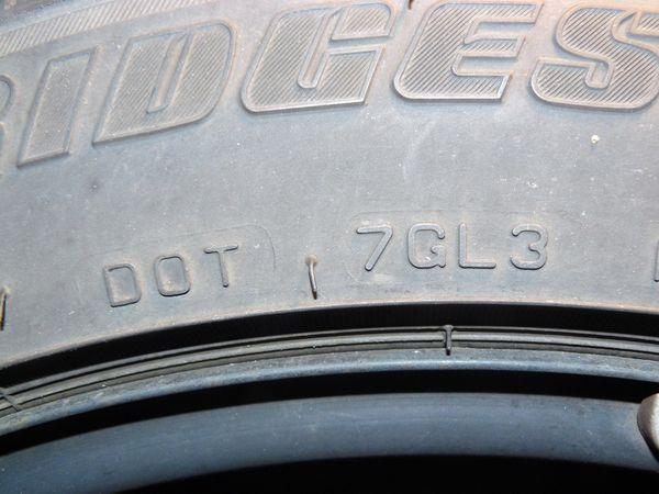 4x Winterreifen Bridgestone 195 55