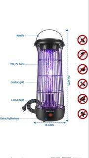 Elektrischer Insektenvernichter Insektenfalle Mückenlampe 12W