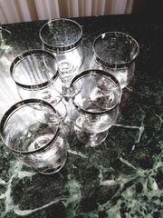 Gläser Platinrand