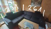 Sofa in Farbe Espresso