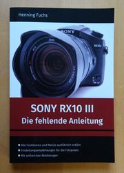 Handbuch für Sony RX10 III