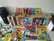 Große LTB und Micky-Maus-Sammlung