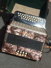 Akkordeon Koffer auch Ziehharmonika Handharmonika