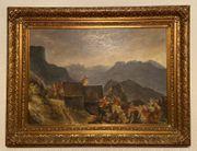 Gemälde Lothar Märk Schloss Glopper