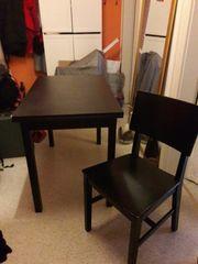 Ausziehbarer Ikea Tisch mit 4