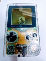 Nintendo Gameboy Pocket Clear TOP