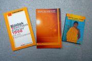 3 Kodak Taschenbücher Taschenführer NEU