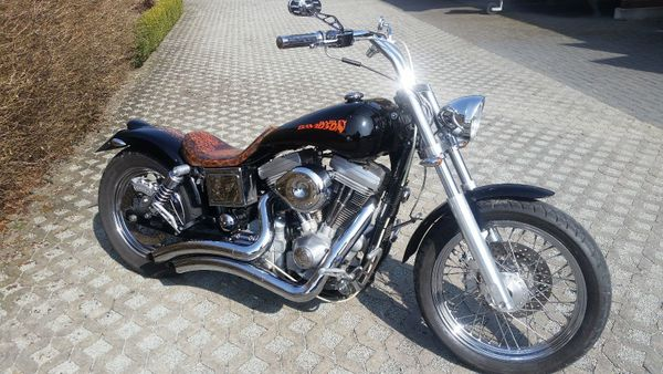 Harley Davidson Custombike FXCWC Rocker