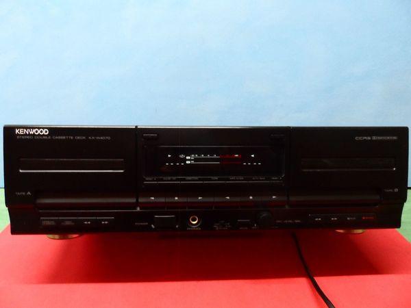 Kenwood KX-W4070 MC - Doppel Cassetten