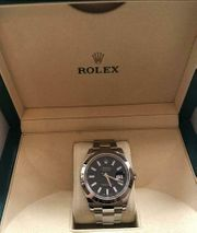 Rolex DateJust 116300 Blue 2016