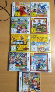 Nintendo 3DS DS Spiele SIEHE