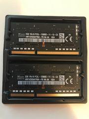 2x Arbeitsspeicher Macbook - 2GB - 1Rx16