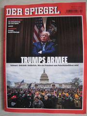 NEU ungelesen Der Spiegel -Trumps Armee