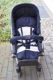 Hartan VIP-Kinderwagen mit Kindertrage zu