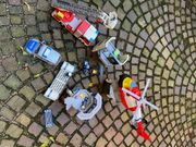 Playmobil Feuerwehr und Polizei