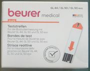beurer Blutzucker-Teststreifen 50 Stk GL44
