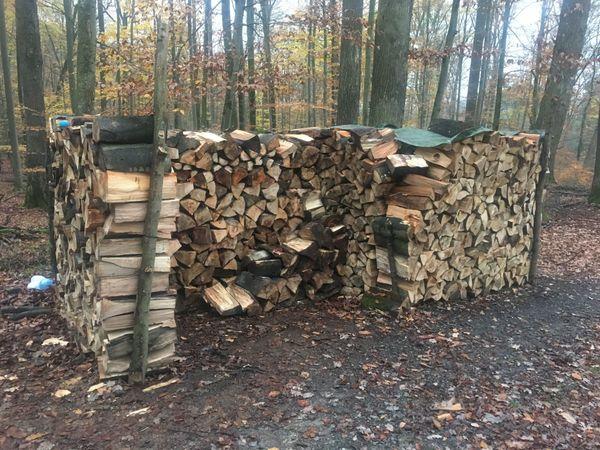Verkaufe trockenes Buchen Brennholz 42-47cm
