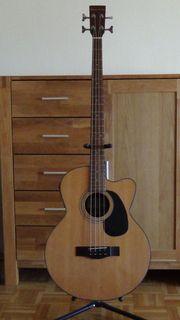 Harley Benton Akustik-Bass