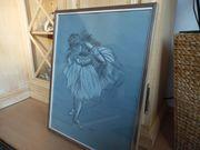 Schönes gezeichnetes Bild einer Ballerina