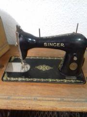Antike Nähmaschine von Singer BJ