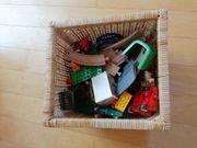 Holzeisenbahn Legobausteine