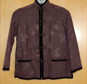Echte traditionelle chinesische Seiden Jacke