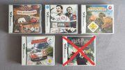 Verschiedene Nintendo DS Spiele Deutsche