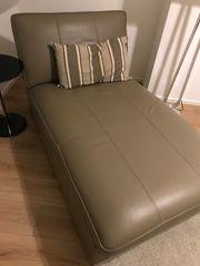 Couch echtes Leder