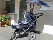 EMMALJUNGA Kinderwagen Buggy Sportwagen mit