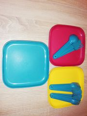 Picknickset Tupperware