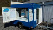 Verkaufswagen mit Softeismaschine