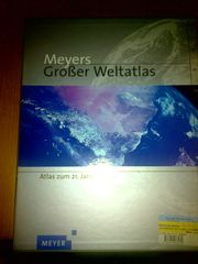Meyers großer Weltatlas umfassend fast