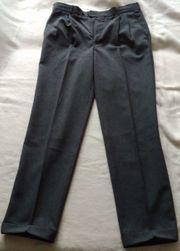 Anzughose in Schwarz Größe 56