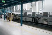 Leybold H3200 Inline Sputter Anlage