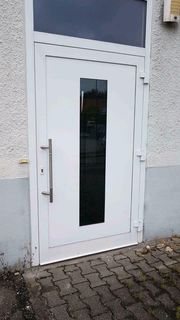 Aluminium Eingangstür 130 cm breit