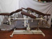 Massageliege Behandlungsliege gebraucht hydraulisch verstellbar