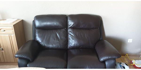 Sofa für Wohnzimmer Echte Leder (2 teilig) in Aschheim ...