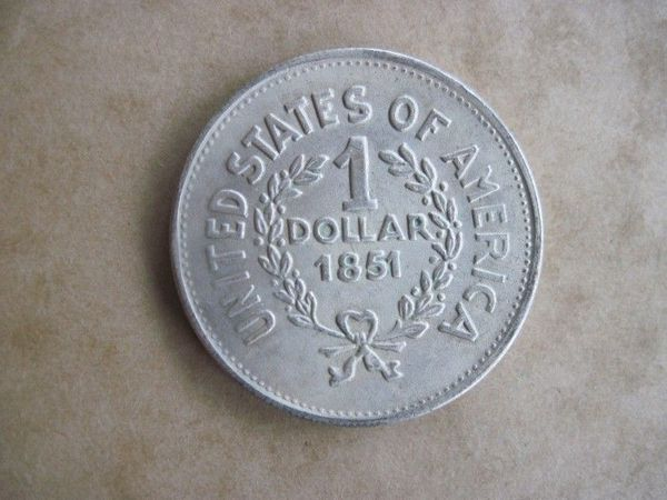Münze Medaille USA 1 Dollar