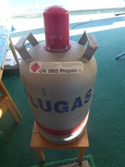 Alugas Gasflasche Füllmenge 11 kg