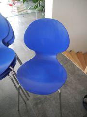5 Stühle stapelbar
