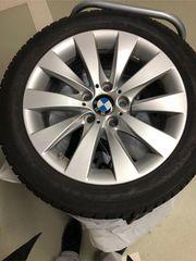 4 BMW-Winterreifen Bridgestone auf Original