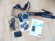 Canon EOS 300-D-Body mit Zubehör