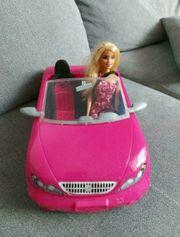 Barbie mit Auto für 09