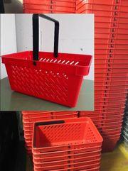 Handkorb Kunststoff rot NEU Einkaufskorb