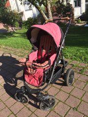 Ökologischer Naturkind Kinderwagen