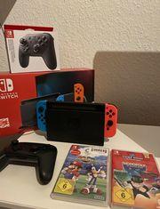 Nintendo Switch mit Rechnung
