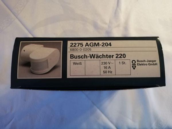 Busch-Jaeger-Wächter 220 2275 AGM-204 weiss