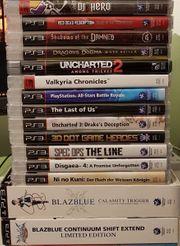 PS3 Spiele - teils noch verschweißt